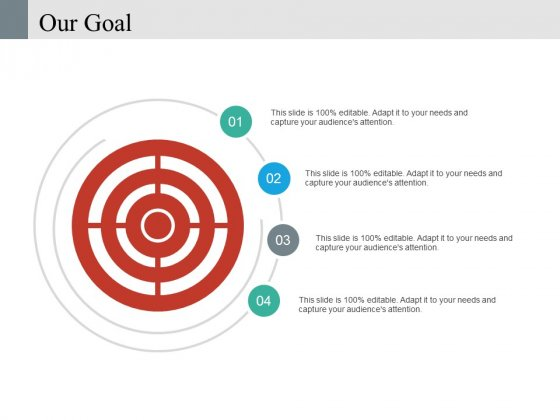 Our Goal Ppt PowerPoint Presentation Infographic Template Icons