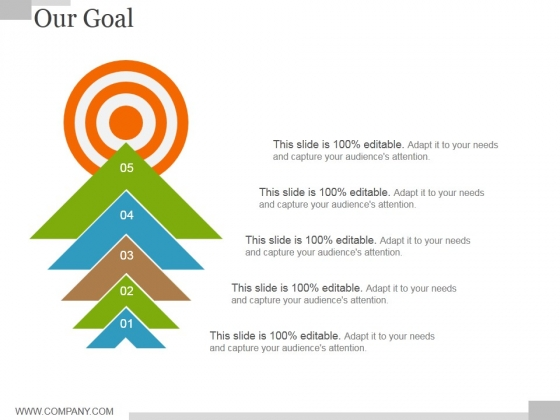 Our Goal Ppt PowerPoint Presentation Infographics Graphics Pictures