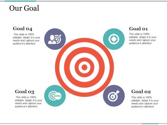 Our Goal Ppt PowerPoint Presentation Infographics Master Slide