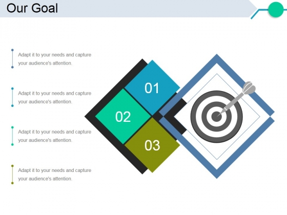 Our Goal Ppt PowerPoint Presentation Infographics Shapes