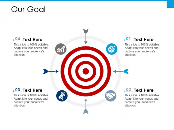 Our Goal Ppt PowerPoint Presentation Inspiration Clipart
