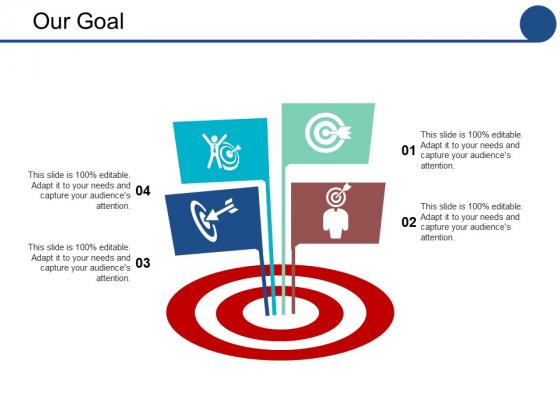 Our Goal Ppt PowerPoint Presentation Inspiration Maker
