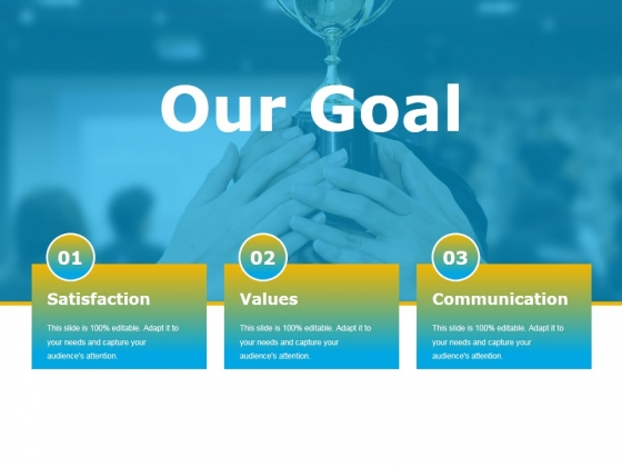 Our Goal Ppt PowerPoint Presentation Inspiration Model