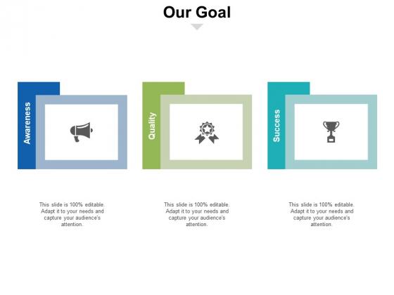 Our Goal Ppt PowerPoint Presentation Layouts Background Image