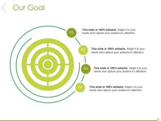 Our Goal Ppt PowerPoint Presentation Layouts Gallery