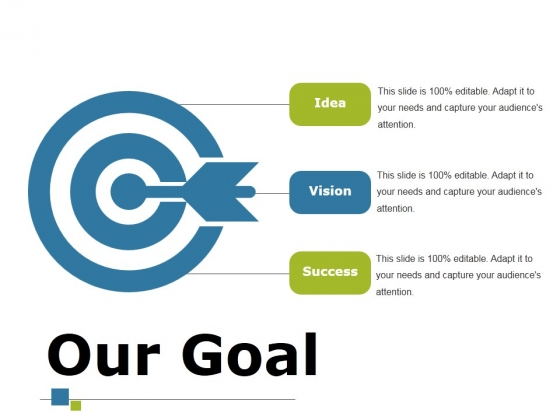 Our Goal Ppt PowerPoint Presentation Layouts Images