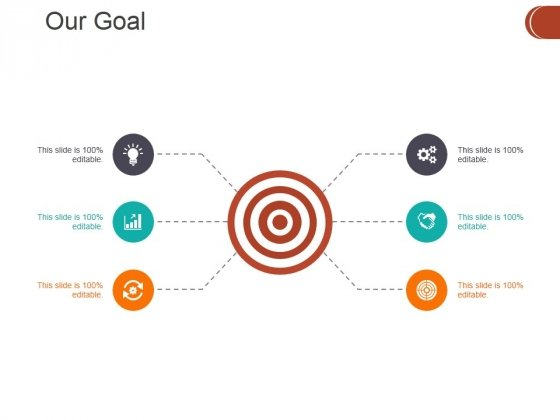Our Goal Ppt PowerPoint Presentation Model Show