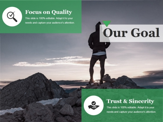 Our Goal Ppt PowerPoint Presentation Model Slideshow