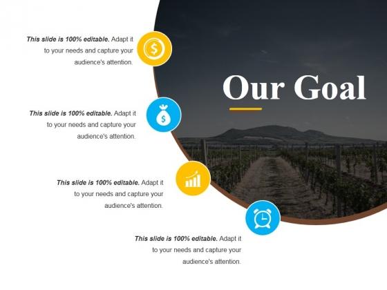 Our Goal Ppt PowerPoint Presentation Outline Slide