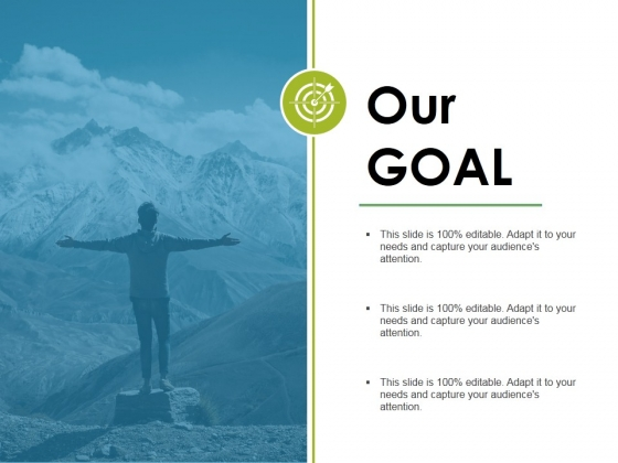 Our Goal Ppt PowerPoint Presentation Outline Tips