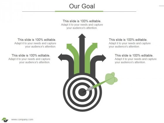 Our Goal Ppt PowerPoint Presentation Outline Vector