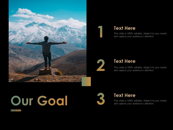 Our Goal Ppt PowerPoint Presentation Pictures Layout