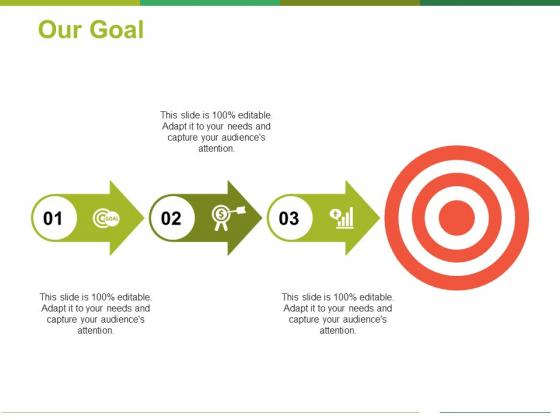 Our Goal Ppt PowerPoint Presentation Portfolio Example Introduction