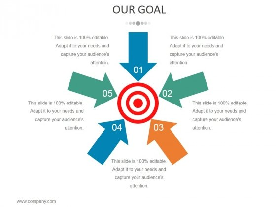Our Goal Ppt PowerPoint Presentation Portfolio Shapes