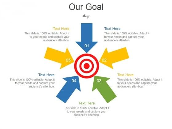 Our Goal Ppt PowerPoint Presentation Portfolio