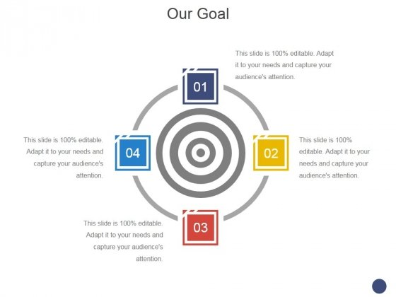 Our Goal Ppt PowerPoint Presentation Professional Aids