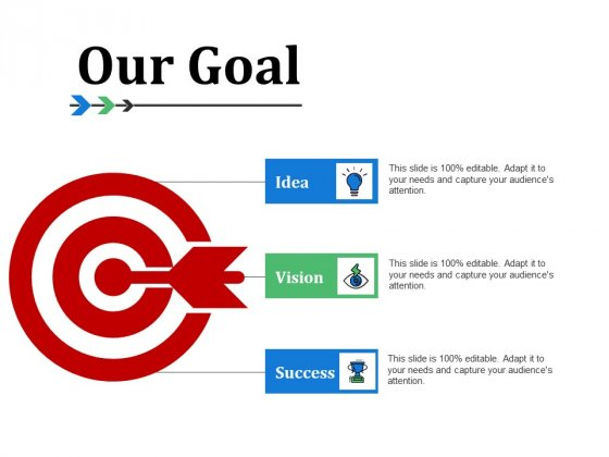 Our Goal Ppt PowerPoint Presentation Professional Backgrounds