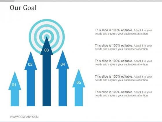 Our Goal Ppt PowerPoint Presentation Samples