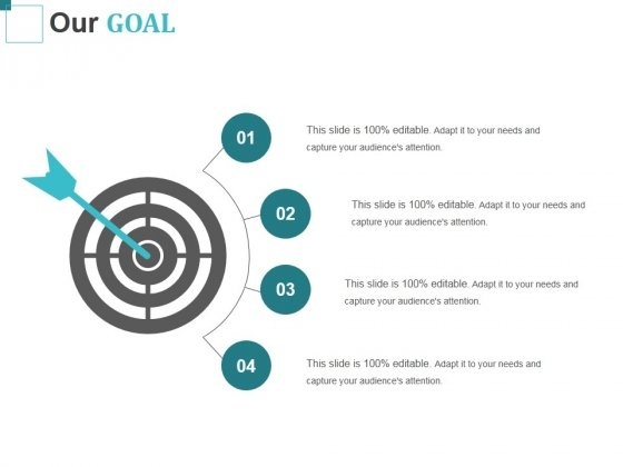 Our Goal Ppt PowerPoint Presentation Show Samples