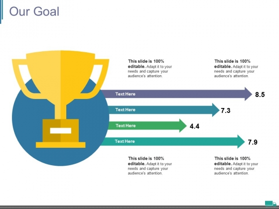 Our Goal Ppt PowerPoint Presentation Styles Designs Download