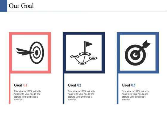 Our Goal Ppt PowerPoint Presentation Styles Designs