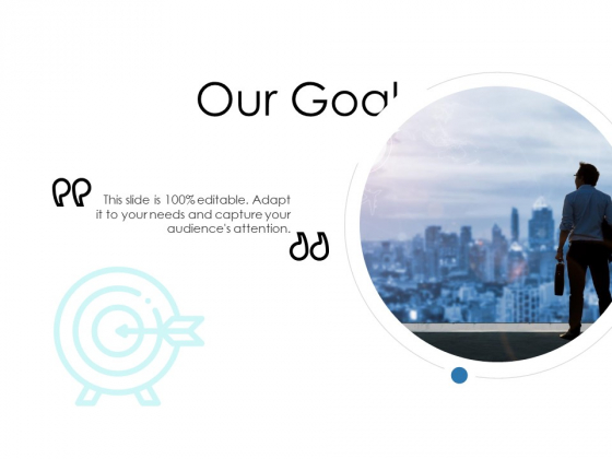 Our Goal Ppt Powerpoint Presentation Styles Slides