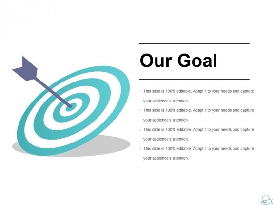 Our Goal Ppt PowerPoint Presentation Summary Master Slide