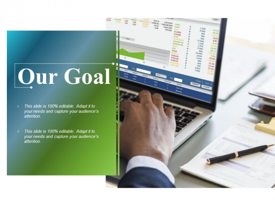Our Goal Ppt PowerPoint Presentation Summary Sample