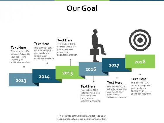 Our Goal Strategy Ppt PowerPoint Presentation Pictures Demonstration