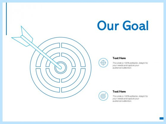 Our Goal Target Ppt PowerPoint Presentation Clipart