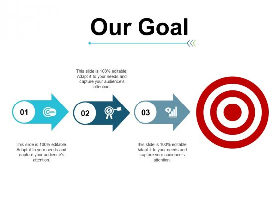 Our Goal Target Ppt PowerPoint Presentation Layouts Introduction