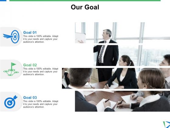 Our Goal Target Ppt PowerPoint Presentation Portfolio Pictures