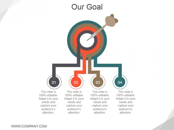 Our Goal Template 1 Ppt PowerPoint Presentation Pictures Aids