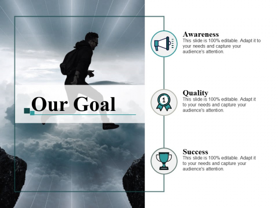 Our Goal Vision Ppt PowerPoint Presentation Model Graphics Template