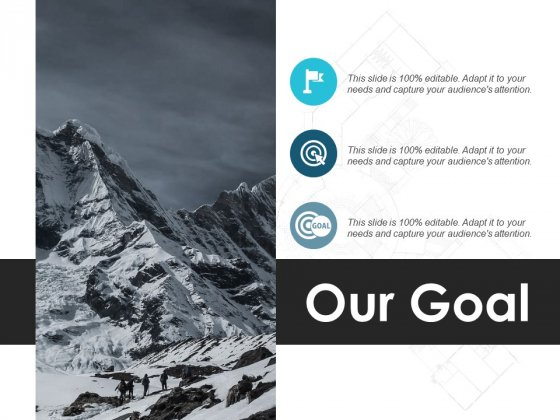Our Goal Vision Target Ppt PowerPoint Presentation Model Background Designs