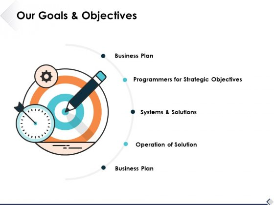 Our Goals And Objectives Ppt PowerPoint Presentation Show