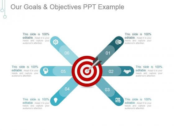 Our Goals And Objectives Ppt PowerPoint Presentation Slide