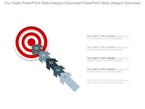 Our Goals Powerpoint Slide Designs Download Powerpoint Slide Designs Download