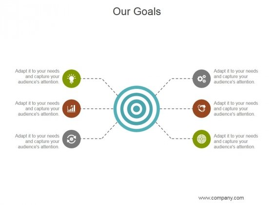 Our Goals Ppt PowerPoint Presentation Deck