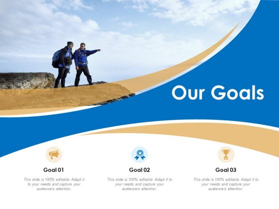 Our Goals Ppt PowerPoint Presentation Pictures Background Images