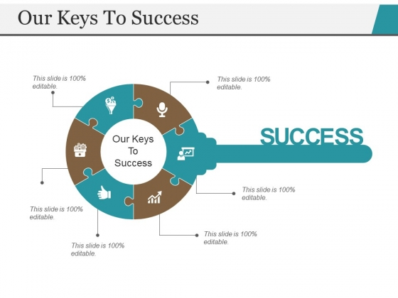 Our Keys To Success Template 2 Ppt PowerPoint Presentation Show Information