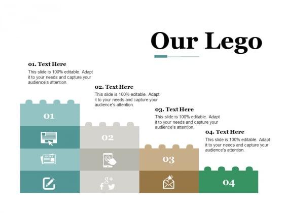 Our Lego Business Management Ppt PowerPoint Presentation Slides Images