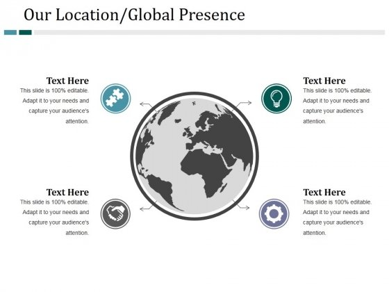 Our Location Global Presence Ppt PowerPoint Presentation Infographics Model