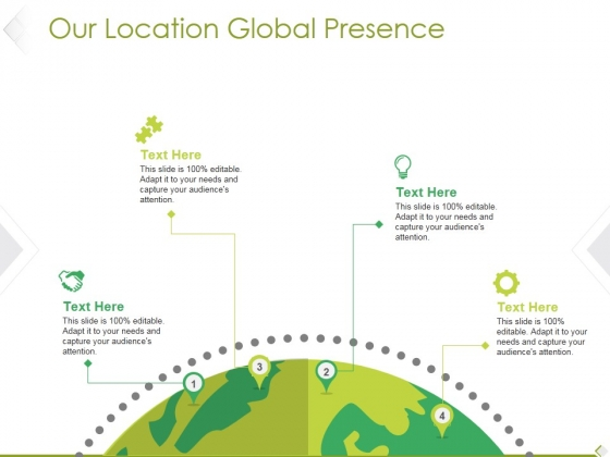Our Location Global Presence Ppt PowerPoint Presentation Visual Aids Example 2015