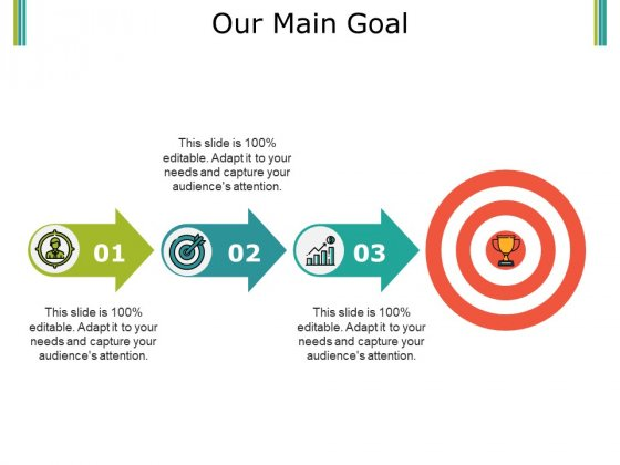 Our Main Goal Ppt PowerPoint Presentation Icon Slides