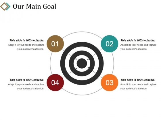 Our Main Goal Ppt PowerPoint Presentation Summary Background Images