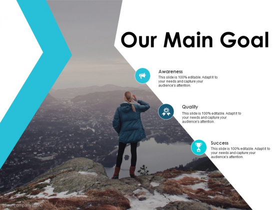 Our Main Goal Ppt PowerPoint Presentation Summary Gallery