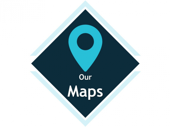 Our Maps Location Ppt Powerpoint Presentation Model Graphics