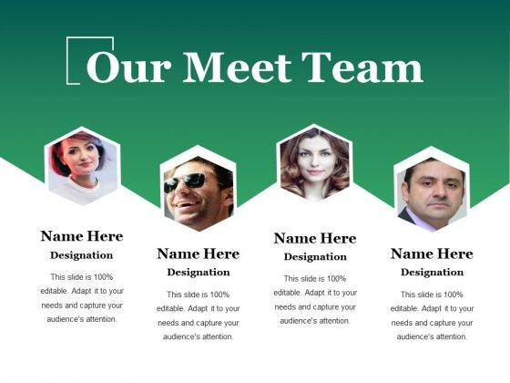 Our Meet Team Ppt PowerPoint Presentation Gallery Example