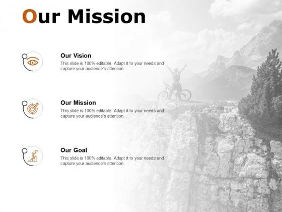 Our Mission Achievement Ppt PowerPoint Presentation Show Slideshow